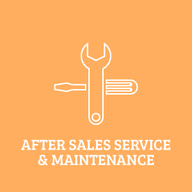After Sales Service & Maintenance
